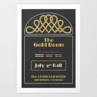 The Gold Room - The Shin… Art Print