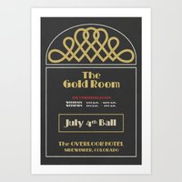 The Gold Room - The Shining - Overlook Hotel  Art Print