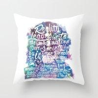 Lennon Reality Throw Pillow
