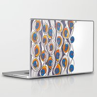 peacock Laptop & iPad Skins featuring peacock by colli1.3designs
