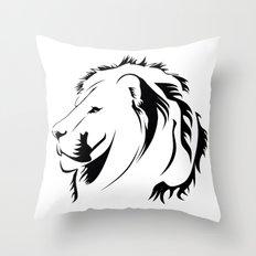 Lionhead Tribiales Throw Pillow