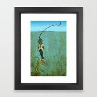 Nautical Grief  Framed Art Print