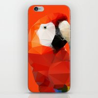 Geo - Parrot Red iPhone & iPod Skin