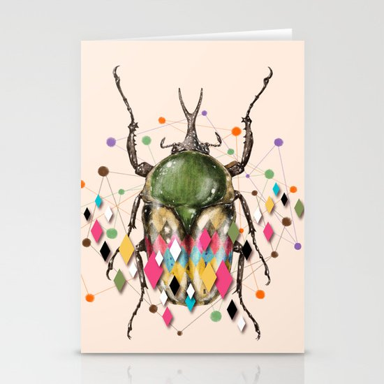 Insect VII Stationery Card