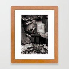 Non Sum Qualis Eram Framed Art Print