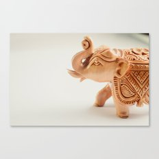 The Hindu elephant Canvas Print