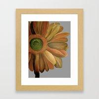 Yellow Flower Framed Art Print