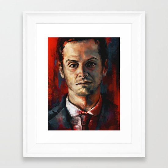 James Moriarty Framed Art Print