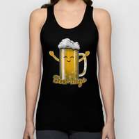 Beer Hugs Unisex Tank Top