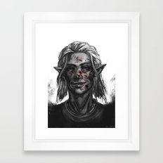 Dragon Age - Zevran Framed Art Print