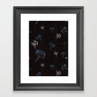Lightning Thor Framed Art Print
