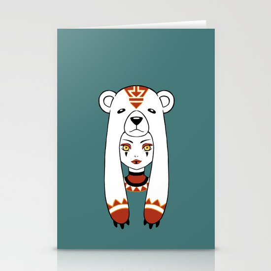 Polar Tribe Stationery Card