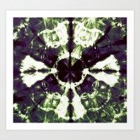 Eggplant Bloom Art Print
