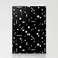My Favorite Pattern 3 Bl… Stationery Cards