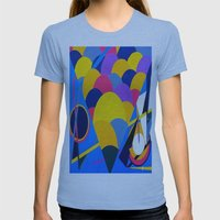 Tool Womens Fitted Tee Athletic Blue SMALL