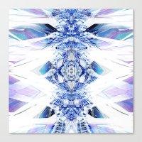 Crystal Mesh Canvas Print