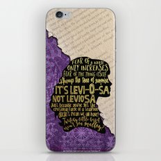 Hermione - Character Pillow iPhone & iPod Skin