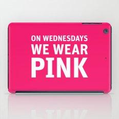 Mean Girls #11 – Pink Wednesday iPad Case