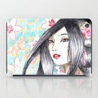 Geisha Glance iPad Case
