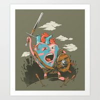 Braveheart Art Print