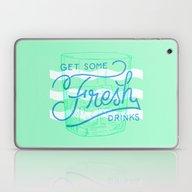 Get Some Fresh Drinks Laptop & iPad Skin
