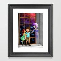 The Hands Can't Resist H… Framed Art Print