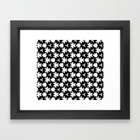 Weizigt Black & White Framed Art Print