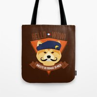 Hello Wow, Omelette Du F… Tote Bag