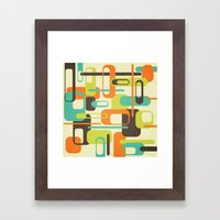 Old Skool Framed Art Print