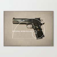 Natural Born Killer Canvas Print