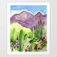 Sonoran Springtime Art Print