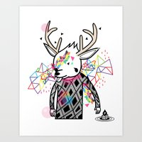 WWWWWWW OF PAUL PIERROT STYLE Art Print