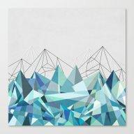 Colorflash 3 Turquoise Canvas Print