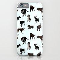 Dog pattern iPhone 6 Slim Case