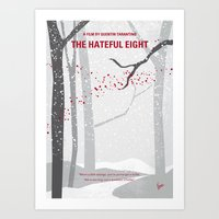 No502 My Hateful Eight M… Art Print