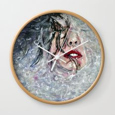 SOUS L'EAU Wall Clock