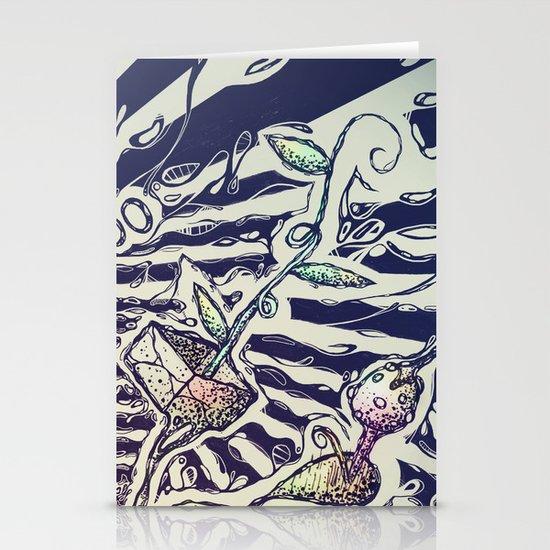 Magic Beans Stationery Card