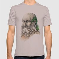 Element : Earth Mens Fitted Tee Cinder SMALL