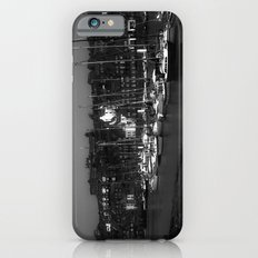 Boats waiting for high tide iPhone 6 Slim Case
