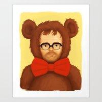 Mr. Wilson Art Print