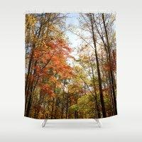 Fall's Wanderlust  Shower Curtain