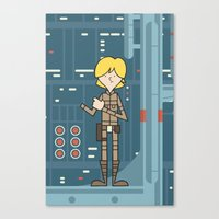EP5 : Luke Skywalker Canvas Print