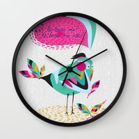 he loves me / he loves me not? Wall Clock