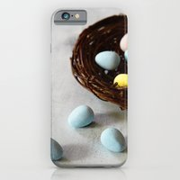 Robin's Eggs and Nest iPhone 6 Slim Case
