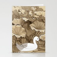 The Duck Stationery Cards