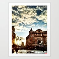 London By IPhone- The Pa… Art Print