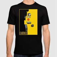Carface SMALL Mens Fitted Tee Black