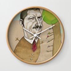 Mr Beever Wall Clock