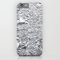 iPhone & iPod Case featuring Tin foil by Livi Po