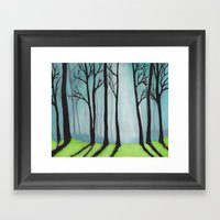 The Glen Framed Art Print